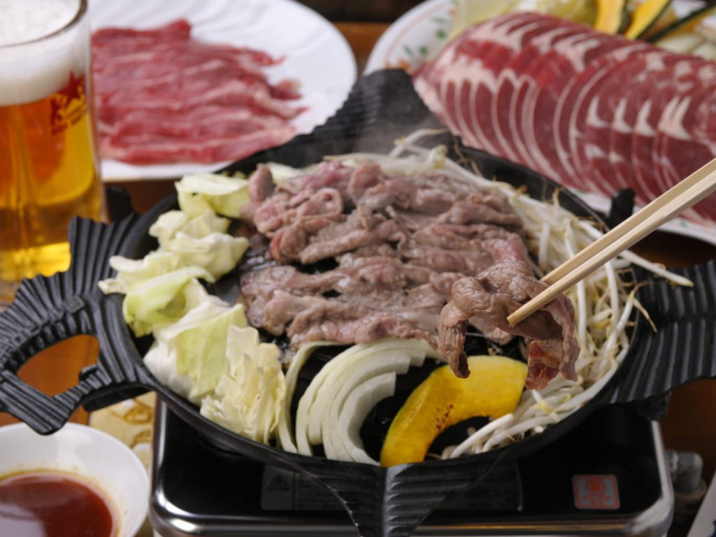 Genghis Khan is a popular mutton barbecue dish.